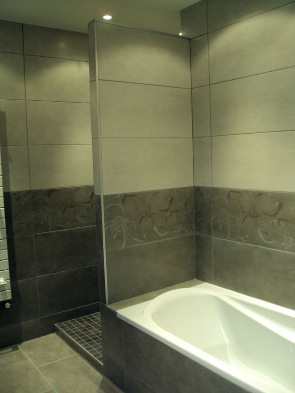 Création du0027une salle de bains (Paris 10) rue du Faubourg Saint Denis - faux plafond salle de bain