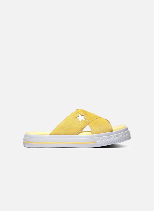 converse all star femme jaune