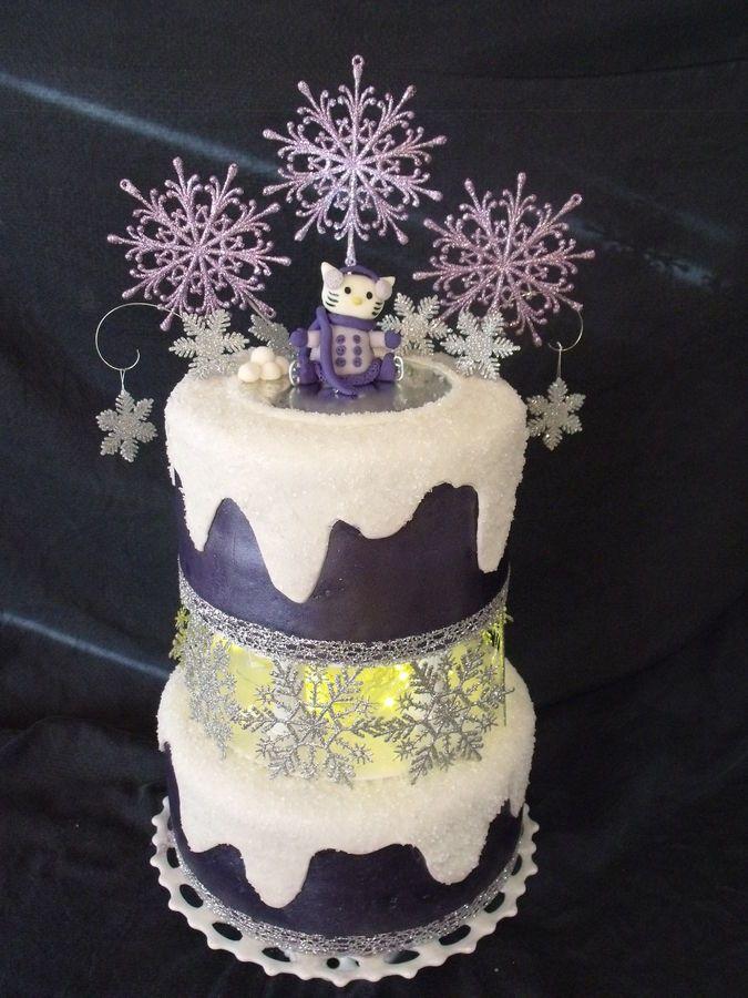Hello Kitty Winter Princess | Hello kitty cake, Winter ...