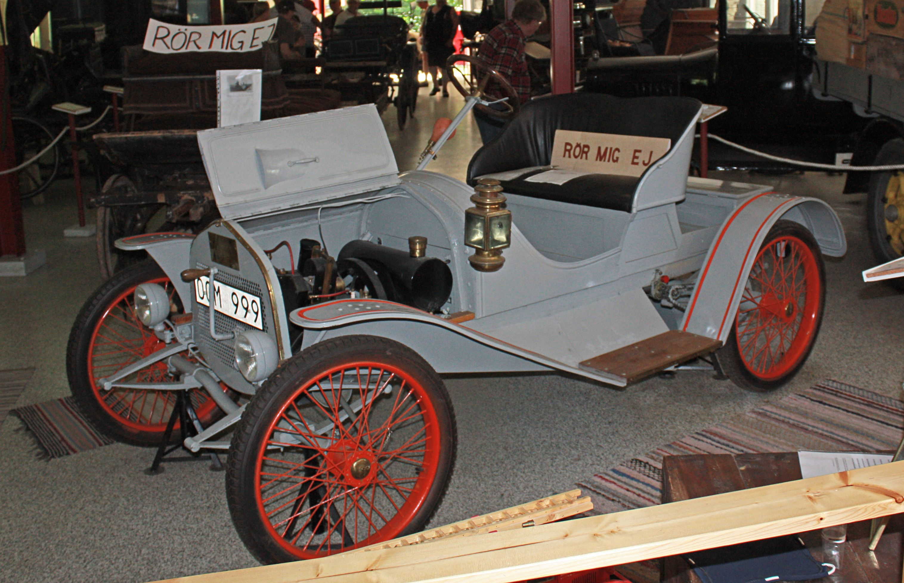 Ellemobil was a car type constructed by the Danish inventor Jacob ...