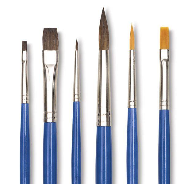 Blick Scholastic Sable and Taklon Set - BLICK art materials   Ptg ...