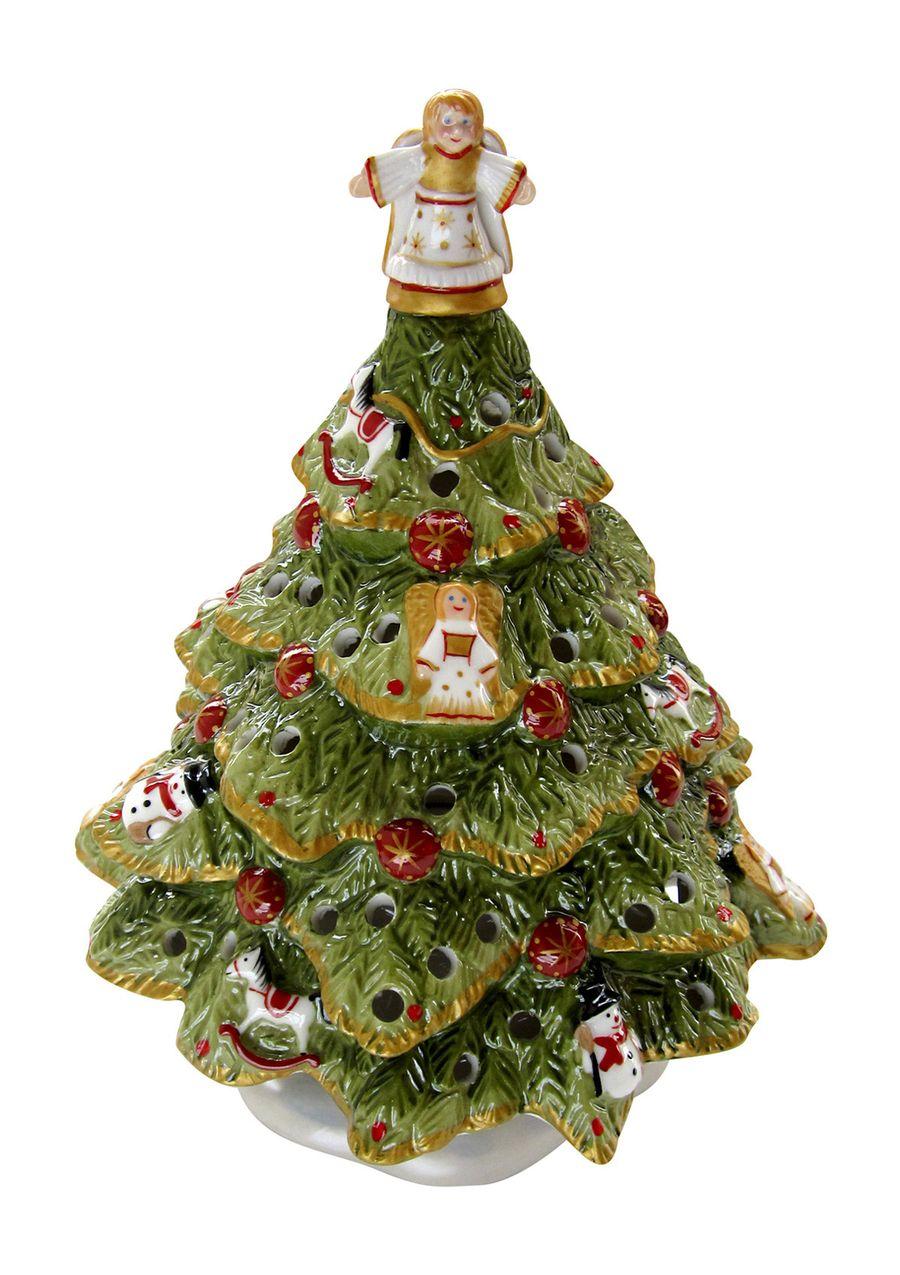 0b44a742eb609 VILLEROY   BOCH Nostalgic Village Christmas Tree