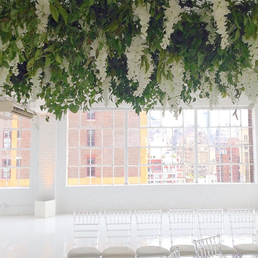 Bess Wyrick On Instagram Another Wisteria And Vine Ceiling Just Went Up The Ny Crew Is Really Getting The Ha Ceiling Decor Wedding Set Up Ceiling Treatments