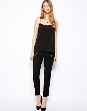 Warehouse+Skinny+Zip+Trousers