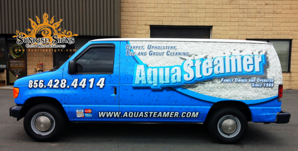 Ford E Series Contractor Van Wraps South Jersey