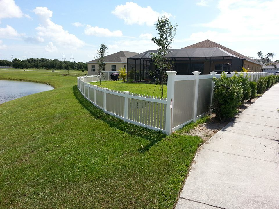 10 Ft Yard Fence For Sale 100 Plastic Lumber As Fence Backyard Fences Fence Prices Outdoor Landscaping