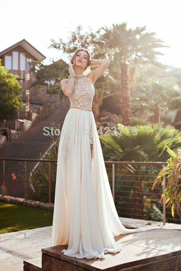 caida libre vestido de novia | desp; boda e invitaciones etc