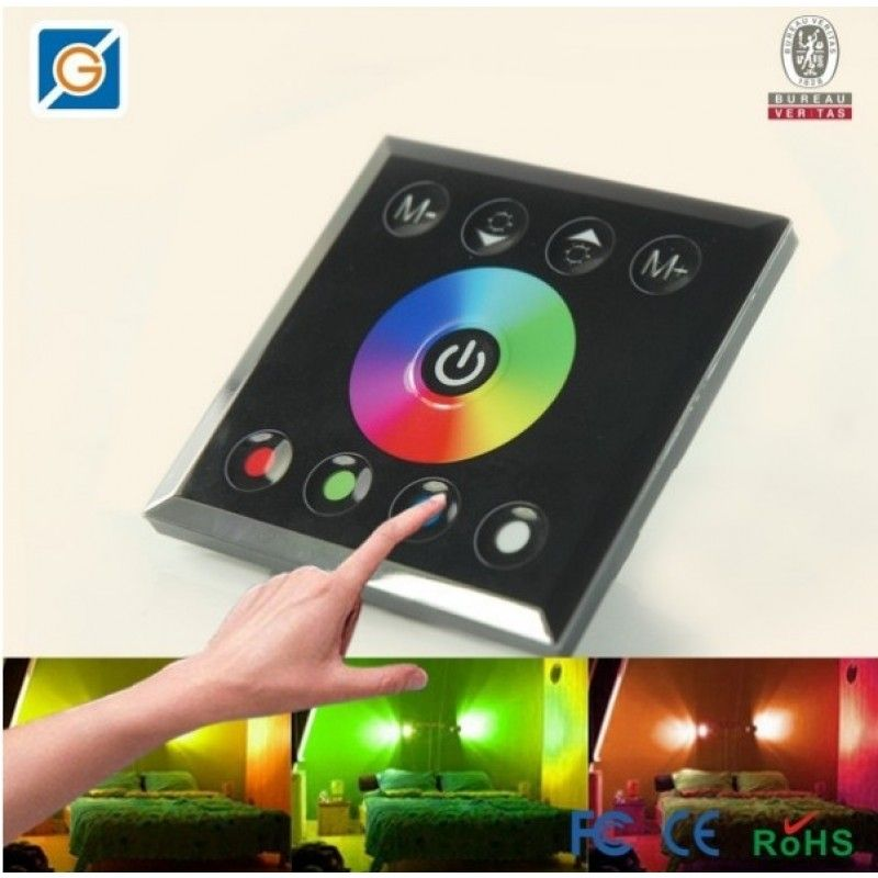 Full Color Touch Panel LED Controller 4-channel 4A/Ch DC-12