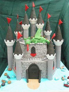 Tortas de castillos on Pinterest