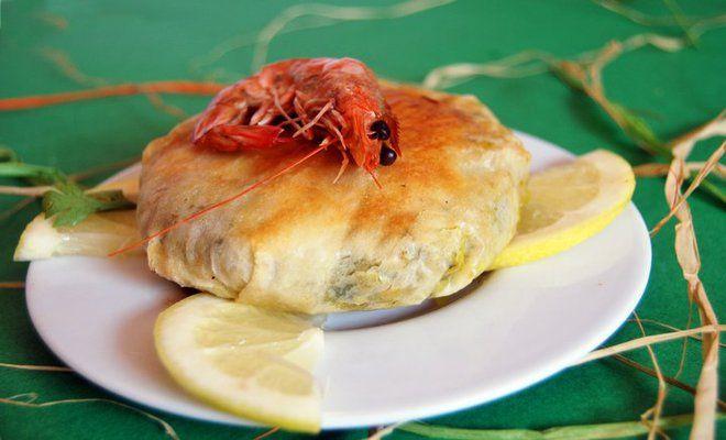 la pastilla au poisson et aux fruits de mer