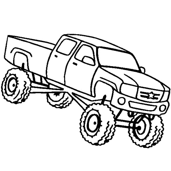 Monster Jam Jumping Truck Coloring Pages Color Luna Di 2020