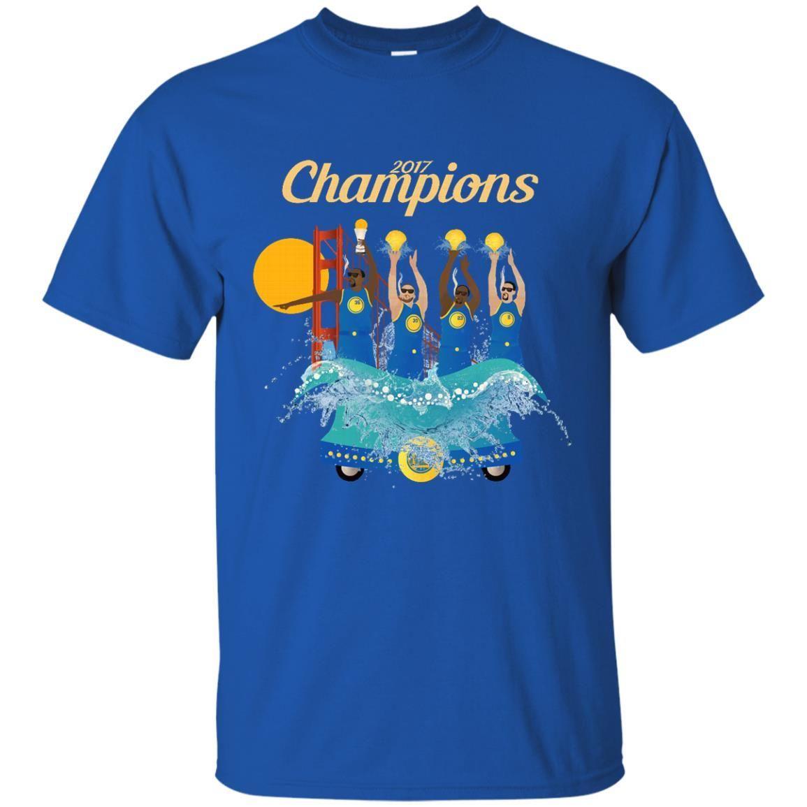 Golden State Warriors T shirts NBA Champions 2017 Hoodies Sweatshirts