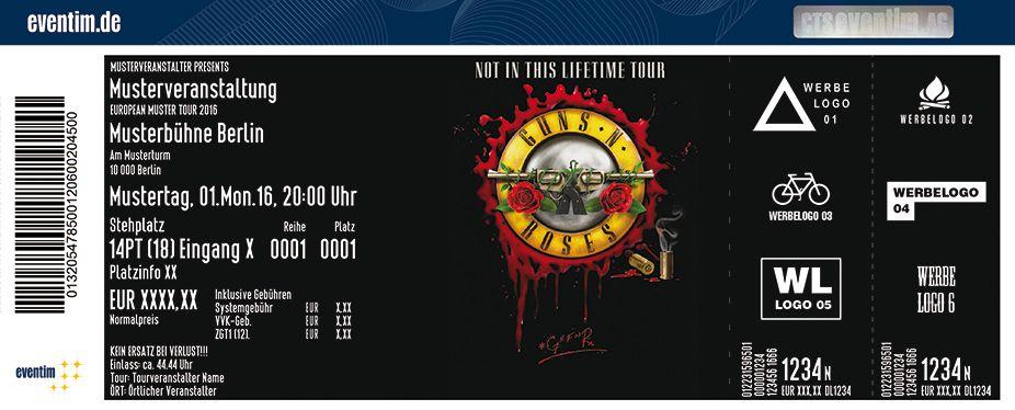 Guns N Roses Kommen Auf Ihrer Not In This Lifetime Tour 2017 Für