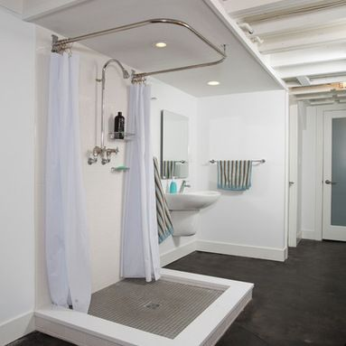 Basement Bathroom Ideas On Budget Low Ceiling And For Small Space Check It Out Basement Bathroom Remodeling Industrial Bathroom Design Bathroom Floor Plans
