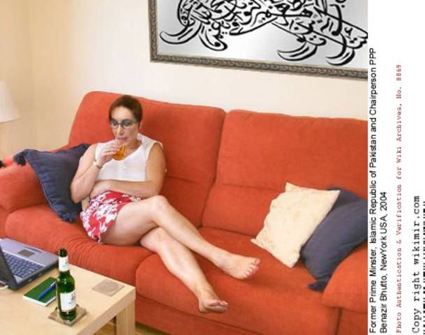 Benazir bhutto sexy images