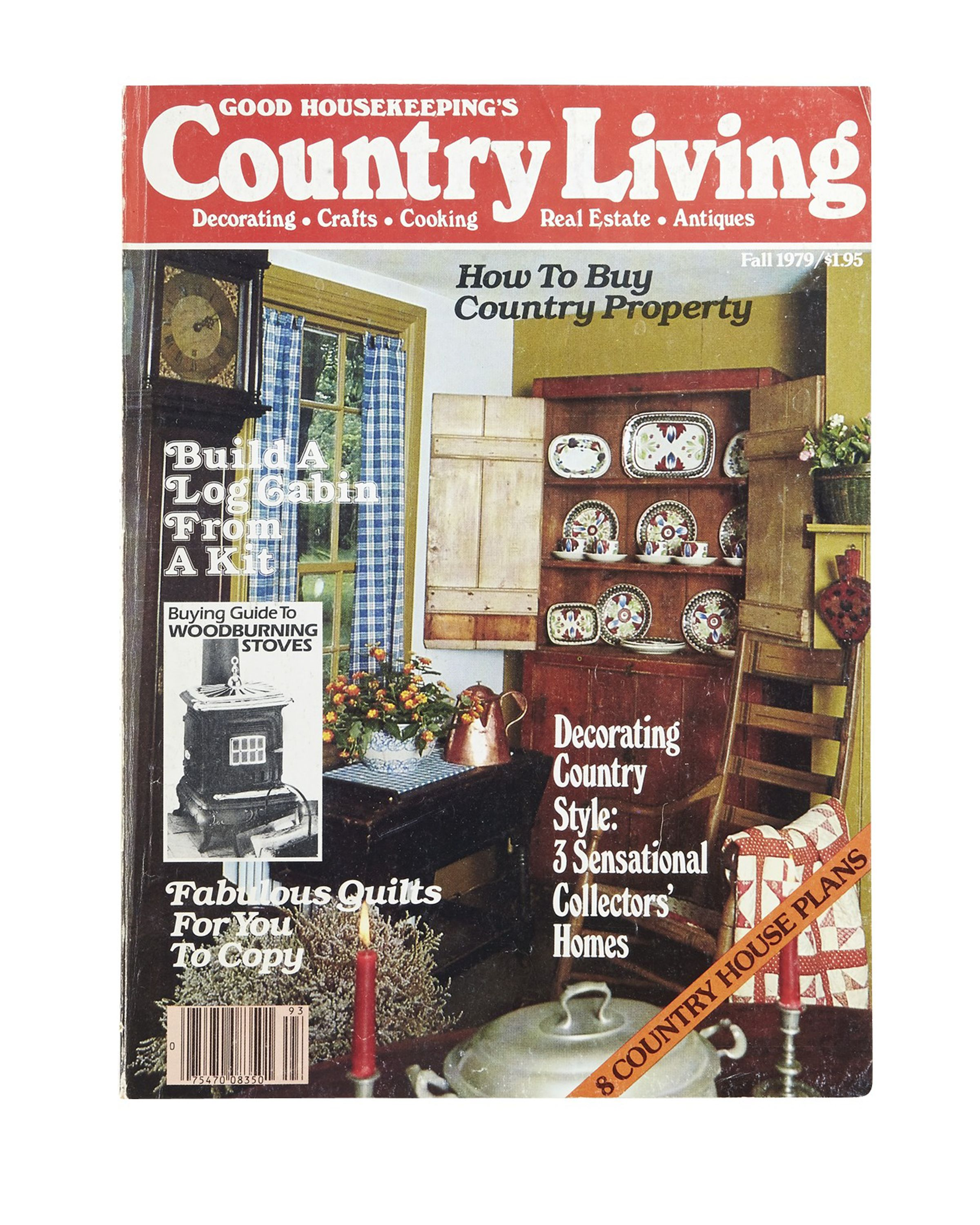 Our Fall 1979 cover featured a rustic china