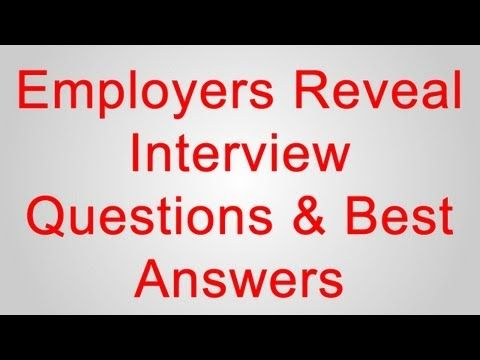 Top 3 interview and behavioral interview questions and best