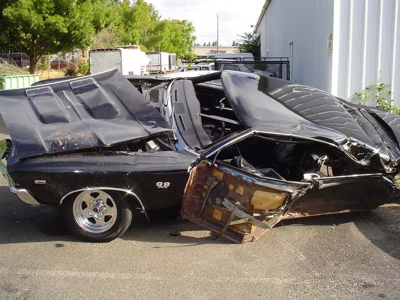 Rebuildable Muscle Cars | Re: Wrecked Muscle cars | accidents ...