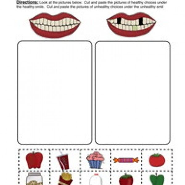 clean teeth worksheet sorting clean teeth worksheets and school themes. Black Bedroom Furniture Sets. Home Design Ideas