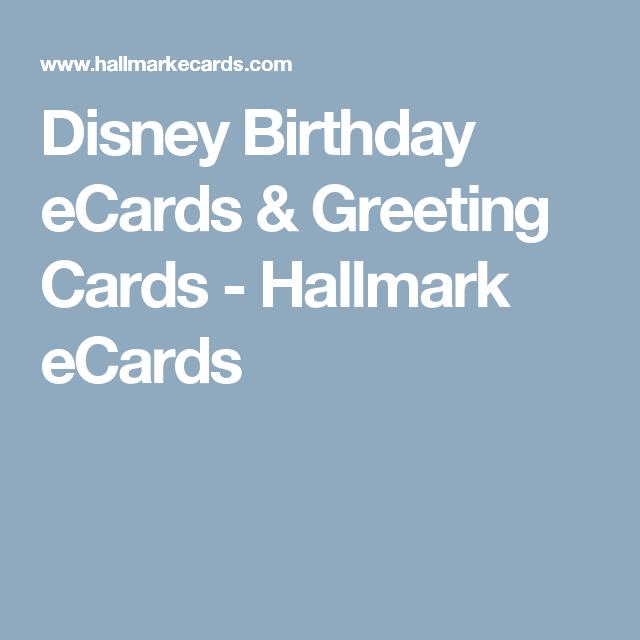Disney Birthday ECards Greeting Cards