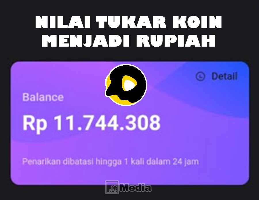 Konversi Koin Snack Video 1 Koin Berapa Rupiah Di 2021 Tahu Video