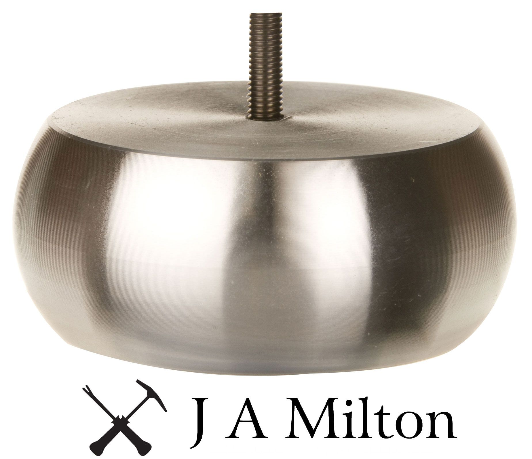 J a Miltons Metal Bun Foot Our Range of Feet Pinterest