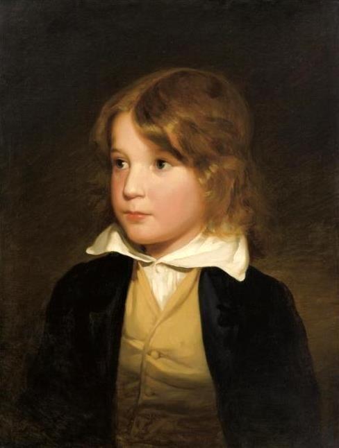 Joseph Amerling As A Child (The Artist's Brother)-Friedrich von Amerling (1803 – 1887, Austrian)