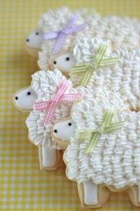 Sweet lamb cookies
