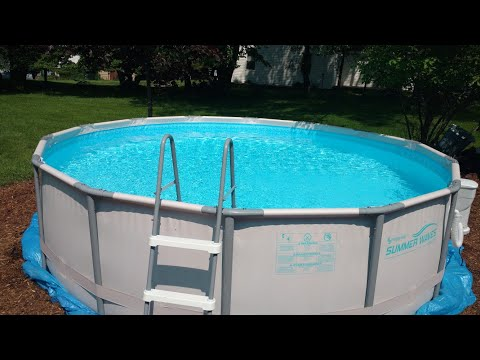 How To Take Apart And Winterize An Above Ground Pool Youtube In 2020 In Ground Pools Pool Life Pool Steps