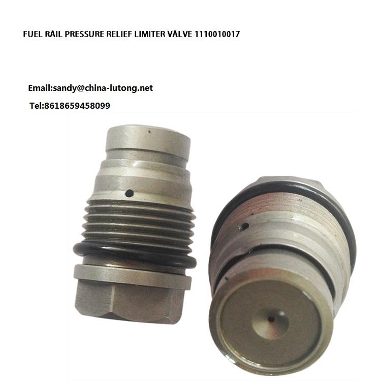 Fuel Rail Pressure Relief Limiter Valve 1110010017 For Bosch 0445214067 0445214028 0445214066