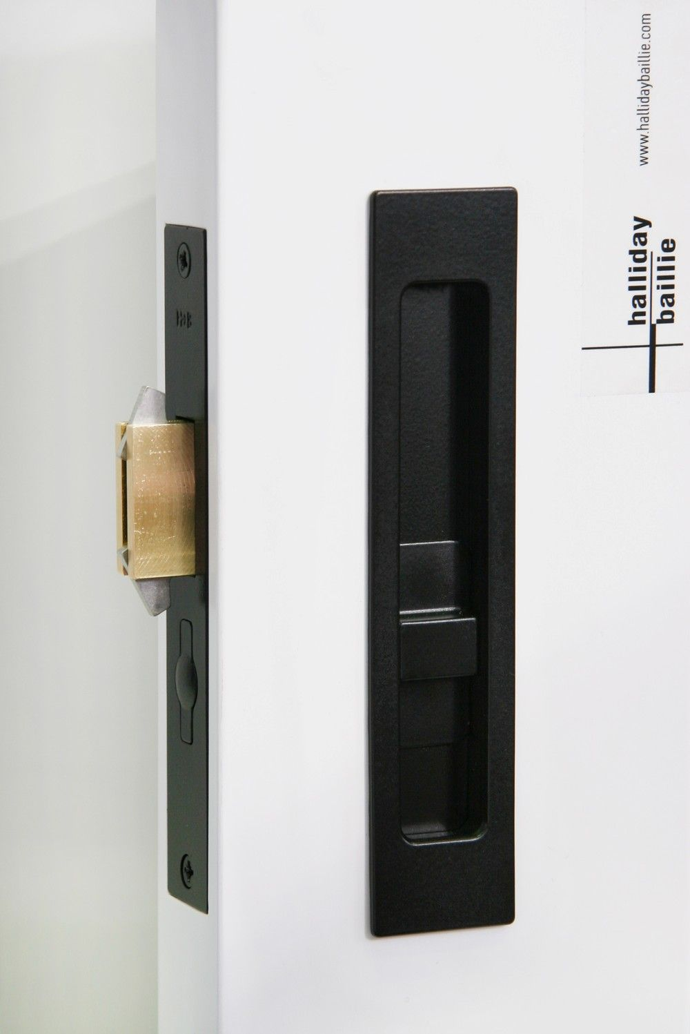 Sliding door hardware hb 690 privacy lock halliday for Door hardware ideas