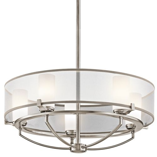 Kichler kk42921clp saldana mini chandelier classic pewter at ferguson com contemporary chandeliermodern contemporarymodern classichome lightingoutdoor