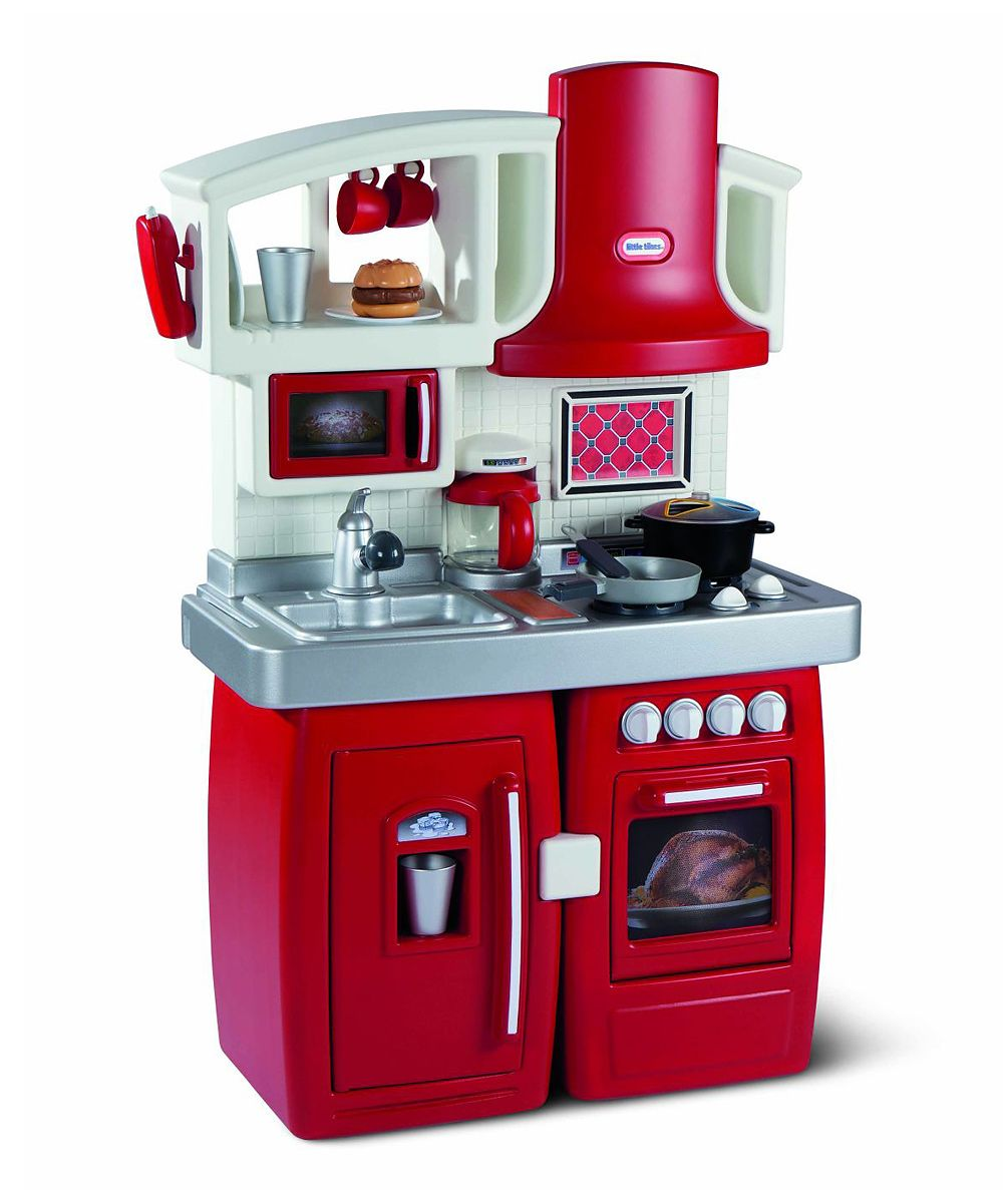 little tikes play kitchen cook 'n grow expandable w/ sounds