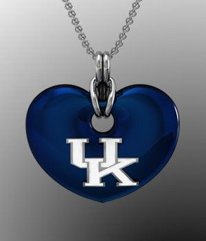 I can so make that uk heart necklace crafts pinterest college basketball i can so make that uk heart necklace sciox Gallery