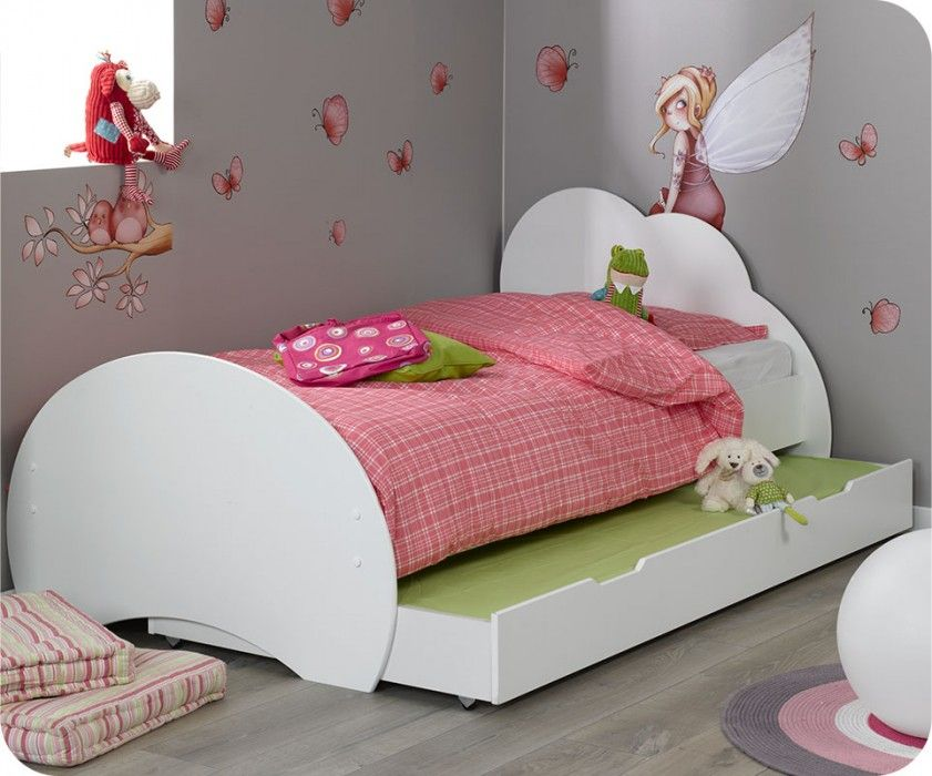 kinderbett nuage wei 90x200cm diverse ideen f rs haus. Black Bedroom Furniture Sets. Home Design Ideas