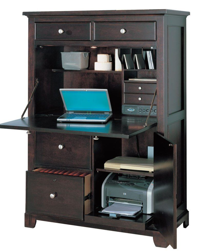 Charmant Winners Only Computer Armoire Wo P142can In Espresso Finish.