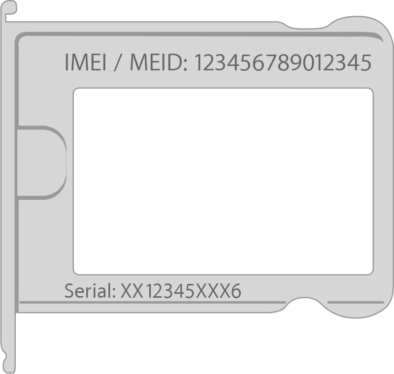 Find the serial number or IMEI on your iPhone, iPad, or