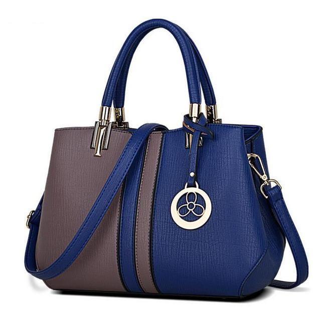 JOOZ New Arrival Women Messenger Bag patchwork Top Handbag Ladies inclined  shoulder woman bags handbags women famous brands 2bc176f2c42d9