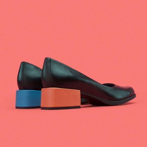 Camper Twins Negro Zapatos de vestir Mujer K200331 004