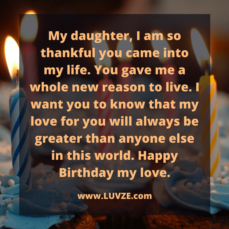 100 Happy Birthday Wishes for Daughters with Beautiful