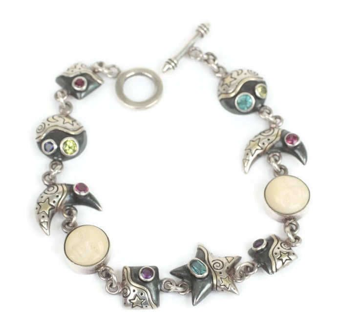 """★★★★★ """"Absolutely fabulous, creative bracelet in excellent condition. Very helpful, friendly, responsive seller!"""" D"""
