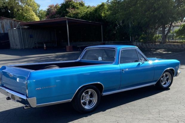 1966 Chevrolet El Camino 327ci 4 Speed In 2020 Chevrolet El Camino American Racing Wheels American Racing