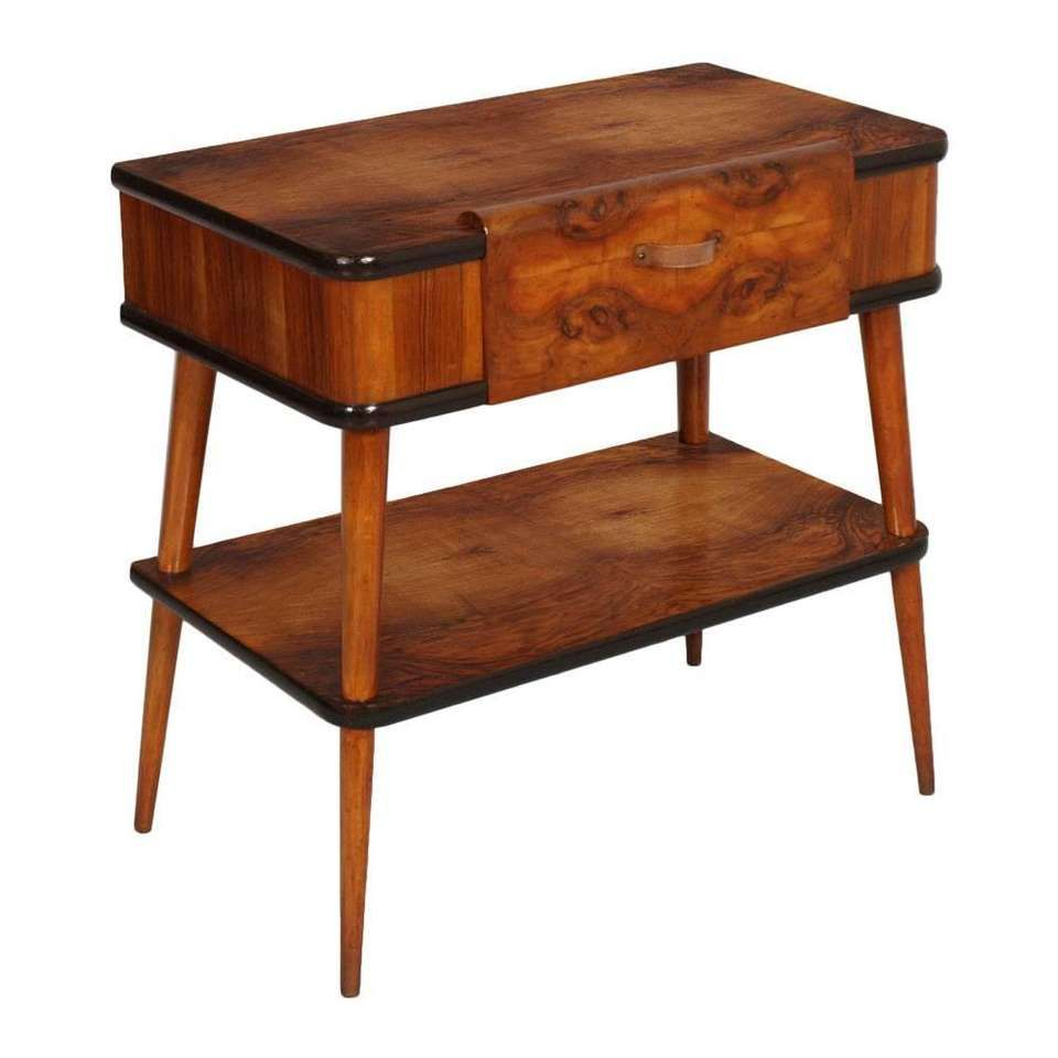1950s Console Little Table Mid-Century Modern De Baggis Cantù Manner Ico Parisi For Sale at 1stdibs