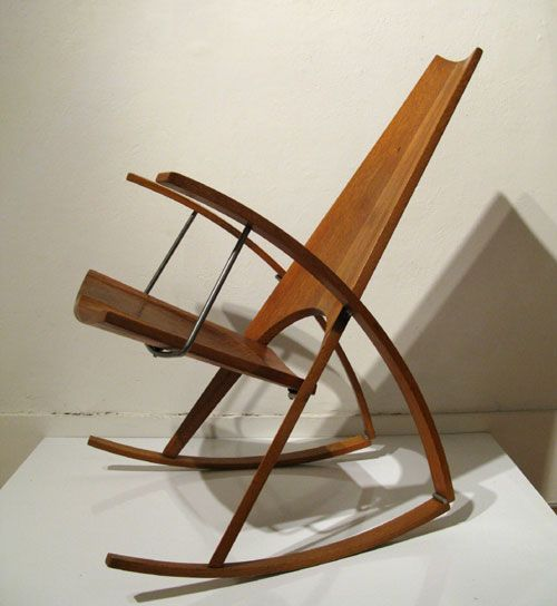 Leon Meyer Rocking Chair (patented by Leon Meyer) found on daddytypes.com