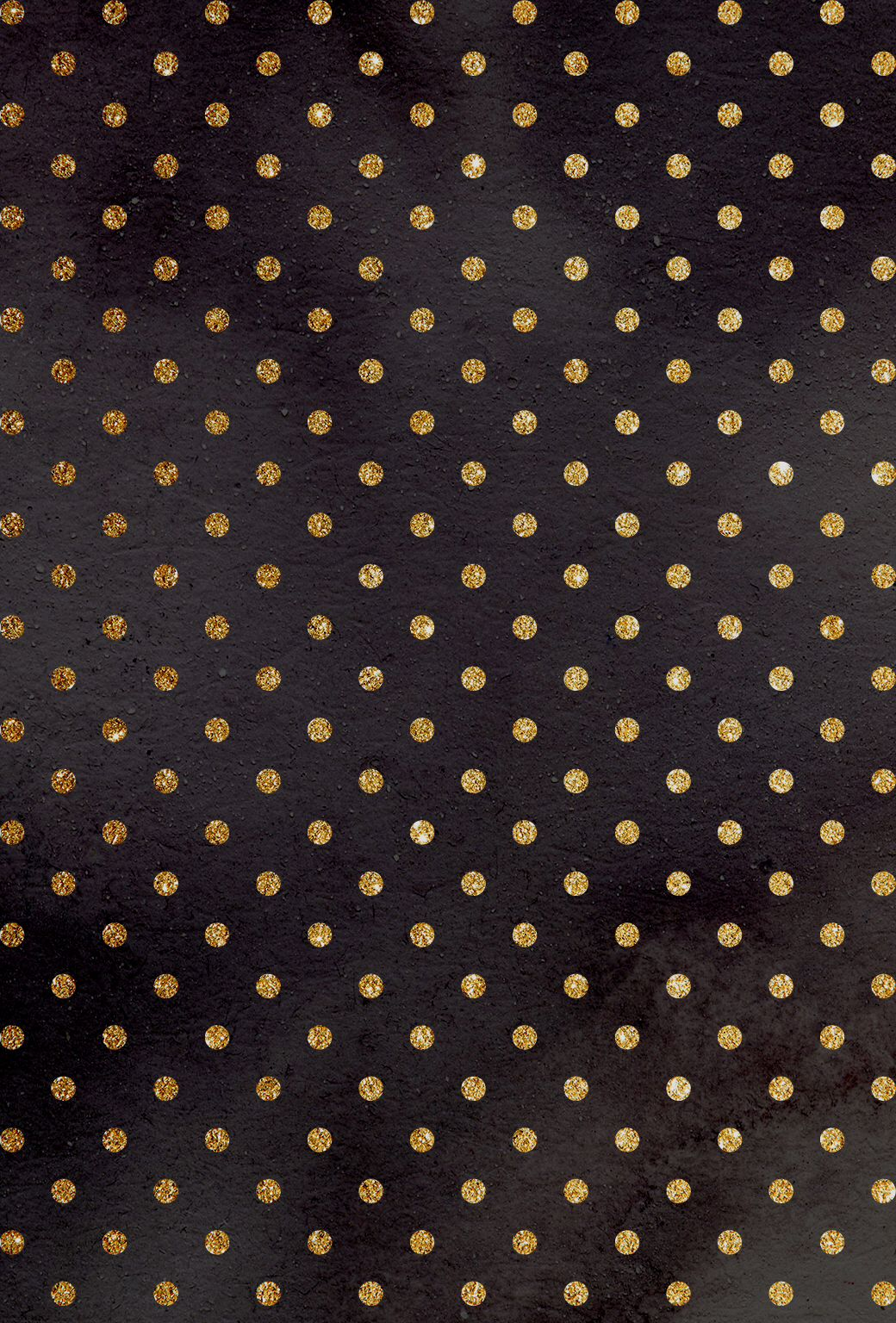 Gold Polka Dots Iphone Wallpaper Quote Maker Patterns Pinterest