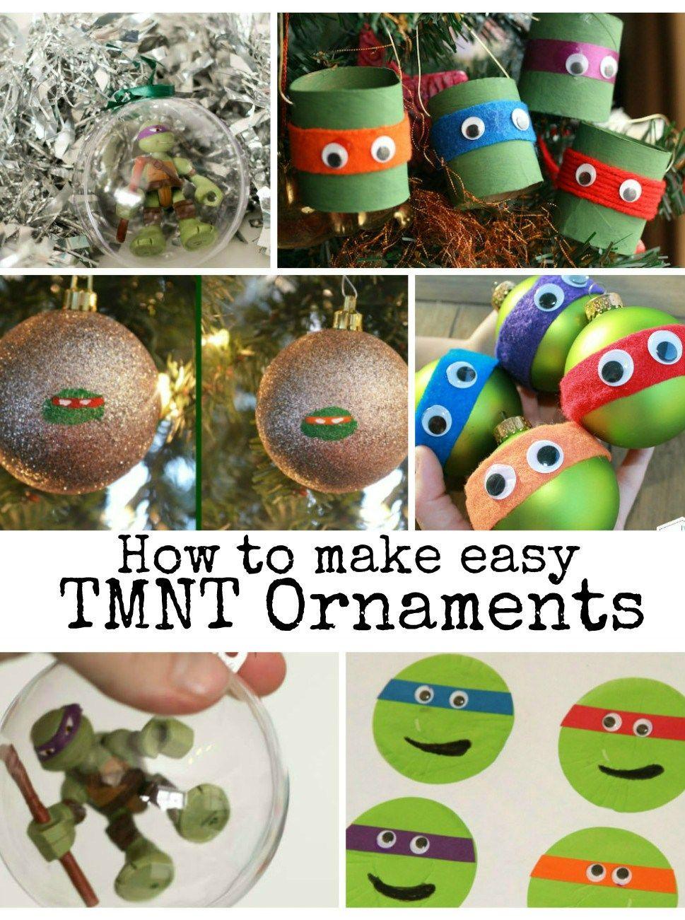 TMNT Teenage Ninja Mutant Turtle Christmas Ornaments | Teenage ninja ...