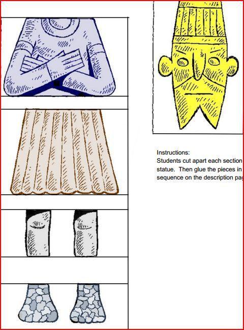 Nebuchadnezzar S Statue Crafts Build A Nebuchadnezzar