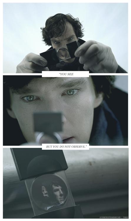 My dear Watson...