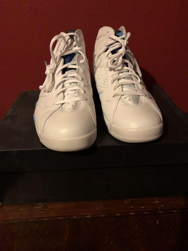 5e14bcf0ddbd air jordan 7 retro White Blue 9  fashion  clothing  shoes  accessories   mensshoes  athleticshoes (ebay link)