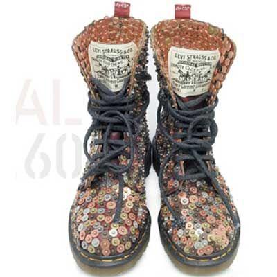 levi s for doc marten...   Beautiful freak   Pinterest   Zapatos ... 9a764ea8e683